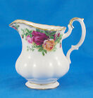 Royal Albert OLD COUNTRY ROSES Creamer 3.875 in. Red Pink Yellow Gold Trim White