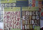 NEW ALPHABET DIE CUT STICKERS ABCs Letters  Choice of Design  STUDIO 112