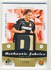 Christine Sinclair 2011 SP Game Used Soccer Authentic Fabrics Patch Card 27 35