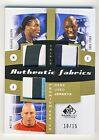 Joseph Dube Reis 2011 UD SP Game Used Soccer Triple Fabrics Patch Card 10 15