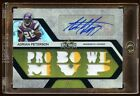 ADRIAN PETERSON 2008 TRIPLE THREADS AUTO #3 3 10X PATCHES LOGO BEAUTIFUL 3 MADE