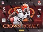 2012 Panini Crown Royale Football Hobby 3 Box Lot  Robert Griffin Andrew Luck