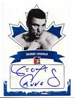 George Chuvalo 2011 In The Game ITG Canadiana Limited Autographed Card #A-GC1