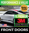 PRECUT FRONT DOORS TINT W 3M FX PREMIUM FOR GEO TRACKER 4DR 96 97
