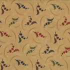 Pheasant Hill Kansas Troubles Moda Quilt Fabric  1/2 yard Tan Floral 9382 11