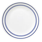 NEW CORELLE CLASSIC CAFE BLUE  LOT OF 4 DINNER PLATES NEW