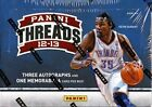 2012 13 Panini Threads Basketball Hobby 3 Box lot