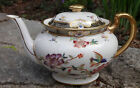 Allerten's Burmese Old English Tropical Birds Oriewntal Flowers Teapot