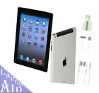 Apple iPad 2 32GB Black WiFi + 3G ATT 97in MC774LL A Nice Condition EXTRAS