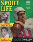 1949 Sport Life Magazine Football Otto Graham Cleveland Browns, Stan Musial Gd