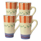 Pfaltzgraff Napoli Latte Mugs, Set of 4