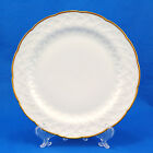 Bernardaud BAUDELAIRE Salad Plate 8.375 in. Vannerie White Gold Trim France