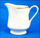 R.H. Macy and Co. THE CELLAR Creamer 4 in. White Gold Trim Smooth