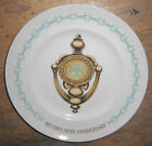 Vintage 1960's DING DONG AVON CALLING DOORKNOCKER Second Anniversary PLATE