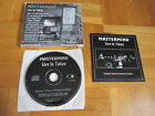 MASTERMIND Live In Tokyo 1997 LIMITED + NUMBERED 1000 only CD issue