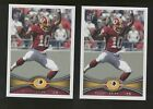 2012 Topps #340C Robert Griffin III RC (factory set insert) Lot of 2 B64584