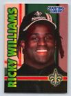 1999  RICKY WILLIAMS - Kenner Starting Lineup Card - NEW ORLEANS SAINTS