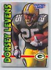 1999  DORSEY LEVENS - Kenner Starting Lineup Card - GREEN BAY PACKERS