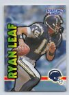 1999  RYAN LEAF - Kenner Starting Lineup Card - SAN DIEGO CHARGERS