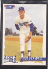 1997  DON DRYSDALE - Starting Lineup Card -Classic Doubles - Los Angeles Dodgers