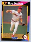 1992  ROB DIBBLE - Kenner Starting Lineup Card - Cincinnati Reds
