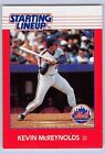 1988  KEVIN McREYNOLDS - Kenner Starting Lineup Card - New York Mets - Vintage
