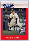 1988  ALAN TRAMMELL - Kenner Starting Lineup Card - DETROIT TIGERS