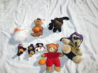 Lot Ty halloweenie beanie Hocus merlin Ghosters + other halloween mini plush