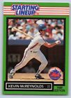 1989  KEVIN McREYNOLDS - Kenner Starting Lineup Card - New York Mets