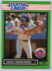 1989  KEITH HERNANDEZ - Kenner Starting Lineup Card - NEW YORK METS
