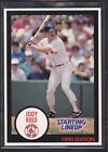 1990  JODY REED - Kenner Starting Lineup Card - Boston Red Sox - (BLUE)