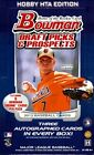 2012 Bowman Draft Picks & Prospects Baseball Jumbo Hobby Box