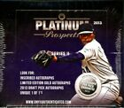 2013 ONYX AUTHENTICATED PLATINUM PROSPECTS SERIES 2 - 6 BOX CASE BLOWO