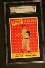 1958 Topps #487 Mickey Mantle AS - SGC-60