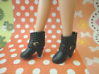 Doll Shoes Fashion Black Ankle boot 1pair LIV Poppy Parker Azone Pure Neemo