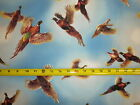 Pheasant Country Pheasants Birds Hen Rooster Hunting Bird QT 20784 B Fabric