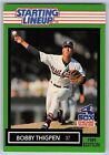 1989  BOBBY THIGPEN - Kenner Starting Lineup Card - Chicago White Sox - Vintage