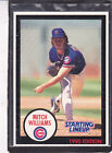1990  MITCH WILLIAMS - Kenner Starting Lineup Card - Chicago Cubs - (BLUE)