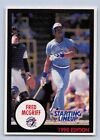 1990   FRED McGRIFF - Kenner Starting Lineup Card - Toronto Blue Jays - (Blue)