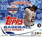 2013 Topps Series 1 Baseball Jumbo Hobby 3 Box Lot