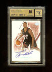 03-04 DWYANE WADE UD ULTIMATE COLL AUTO 250 BGS 10 10 RC ROOKIE