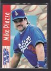 1997  MIKE PIAZZA - Starting Lineup Card - Los Angeles Dodgers