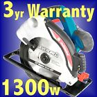 Silverline 185mm Laser Guide Circular Saw 1300w rip cut bevel blade skil mitre