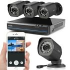 Zmodo 4CH NVR 720P IP Network Wireless Outdoor Home Security Camera System 500GB