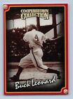 1998  BUCK LEONARD - Starting Lineup Card -