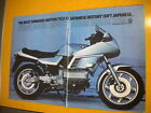 BMW K Series Pin Up Ad Moto Guzzi 850 Le Mans III Ad from American Motorcyclist