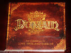 Domain: The Chronicles Of Love Hate And Sorrow CD 2009 Bonus Track Limb Digipak