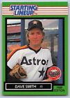 1989  DAVE SMITH - Kenner Starting Lineup Card - SLU - HOUSTON ASTROS