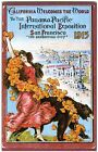 1915 SAN FRANCISCO PPIE PANAMA PACIFIC EXPOSITION NEW 1983 POSTER IMAGE POSTCARD