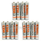 12 pcs AAA Size LR03 R03 1350mAh 1.2V Ni-MH Rechargeable Battery UltraCell USA